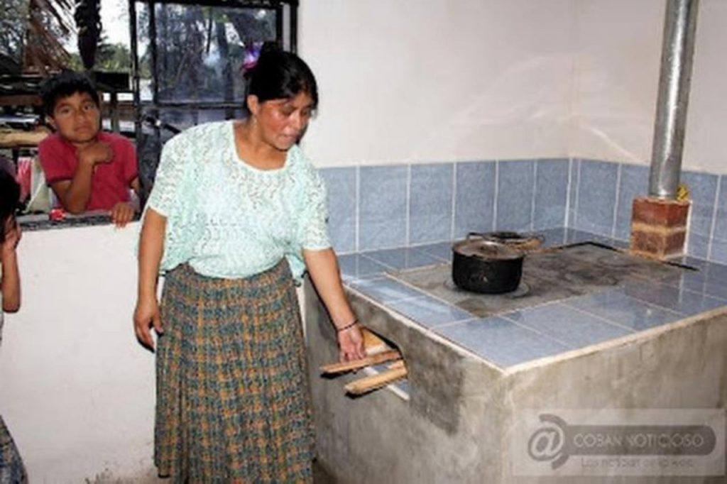 Buscan reducir consumo de le a con ecoestufas for Estufas de lena para cocinar