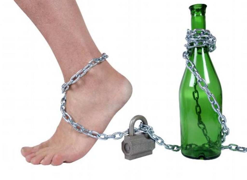 La cita sobre el alcoholismo
