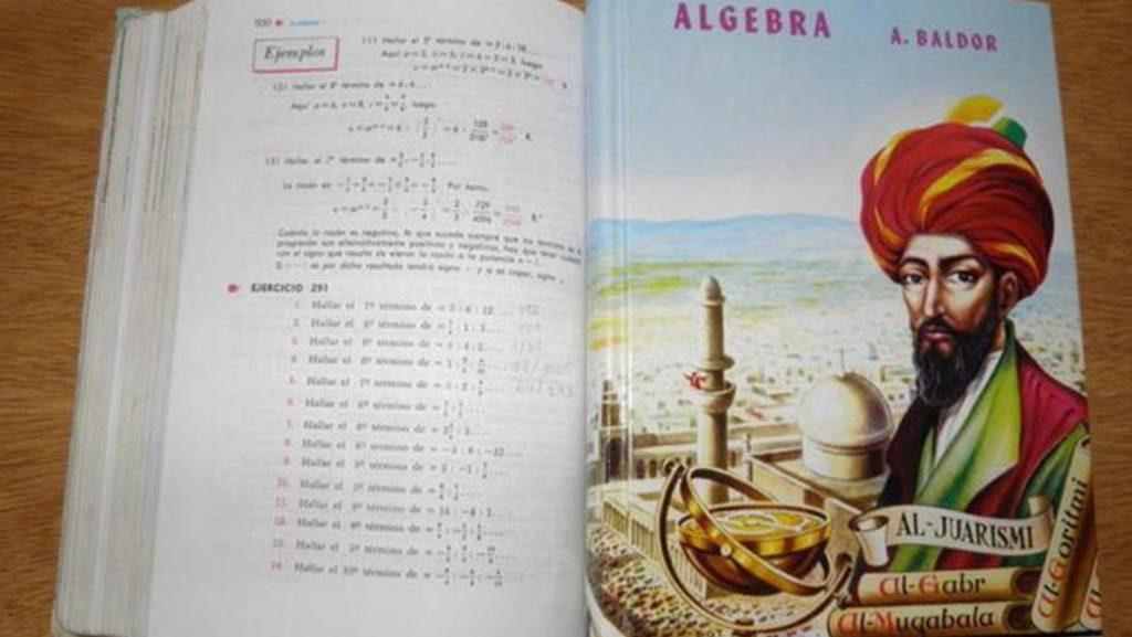 ¿Es Baldor el árabe que aparece en la portada del libro