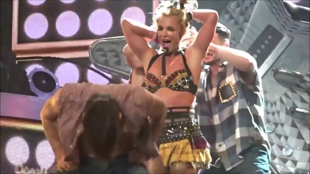Britney Spears Crash rasiert