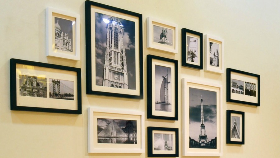 Consejos para decorar con cuadros en las reas de la casa for Decorar paredes con cuadros y espejos