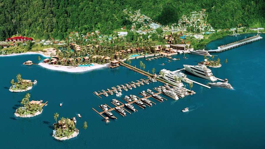 Costa Rica inaugura marina en nuevo complejo turístico