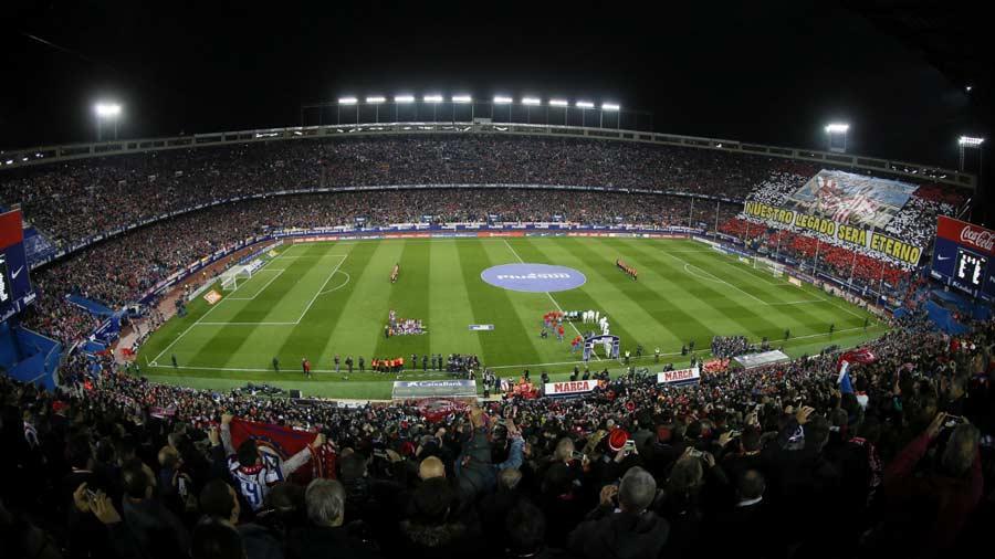 El ltimo partido europeo del estadio vicente calder n for Ultimo partido del real madrid