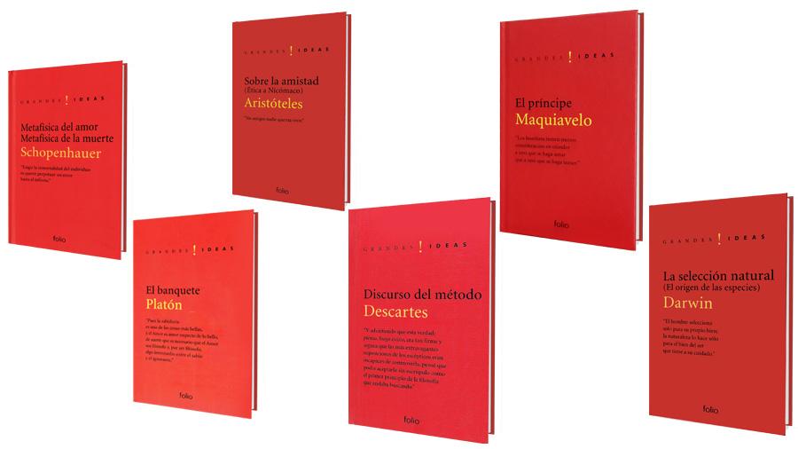 Quieres un paquete de libros sobre grandes pensadores de la historia ...