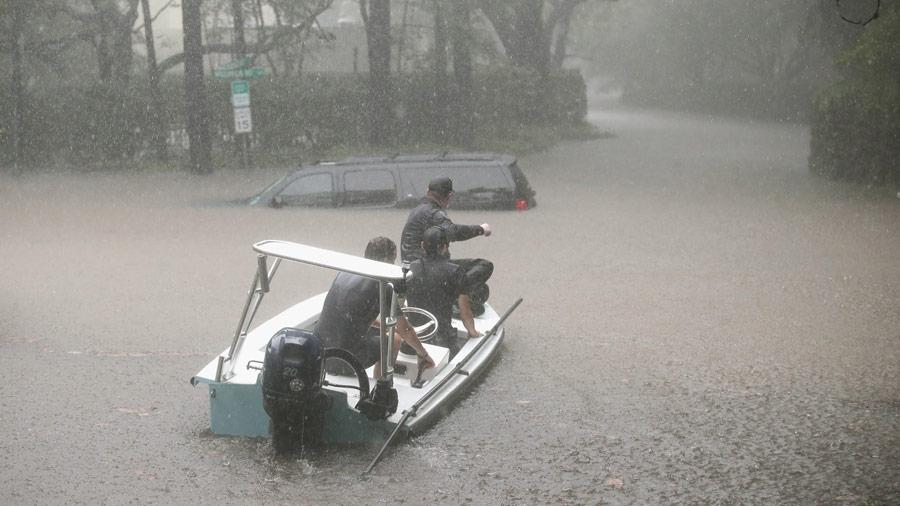 El Sur De Texas Bajo El Agua Tras El Hurac N Harvey