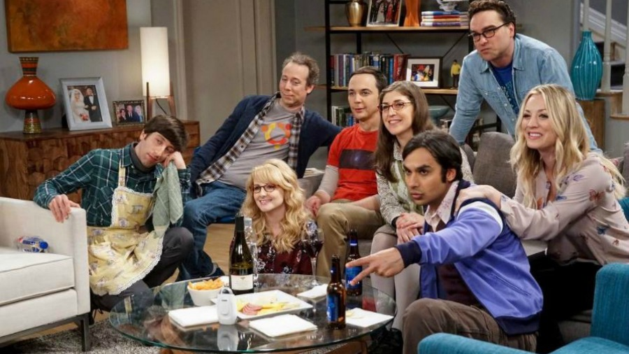 as lucen los actores de the big bang theory a 10 a os de su estreno. Black Bedroom Furniture Sets. Home Design Ideas