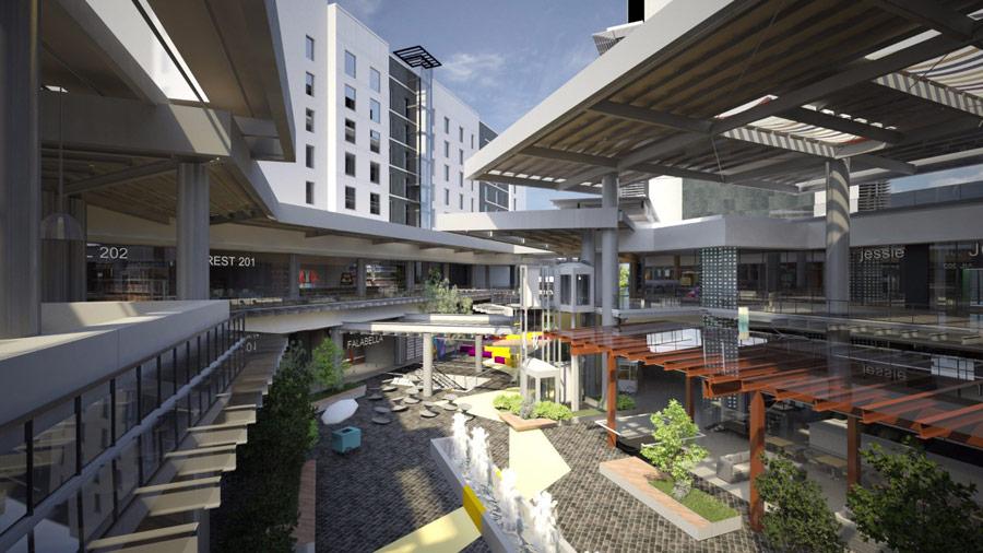La plaza soho cascadas abrir el pr ximo mes for Diseno de lobby de hoteles