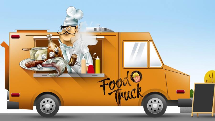 el primer parque de food trucks del pa s ya est abierto. Black Bedroom Furniture Sets. Home Design Ideas