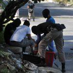El agente policial ha sido detenido mientras investigan su . FOTO EDH
