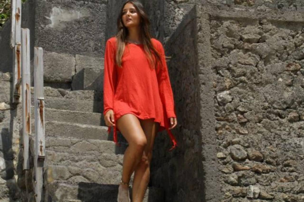 Catarina Migliorini es portada de revista para caballeros