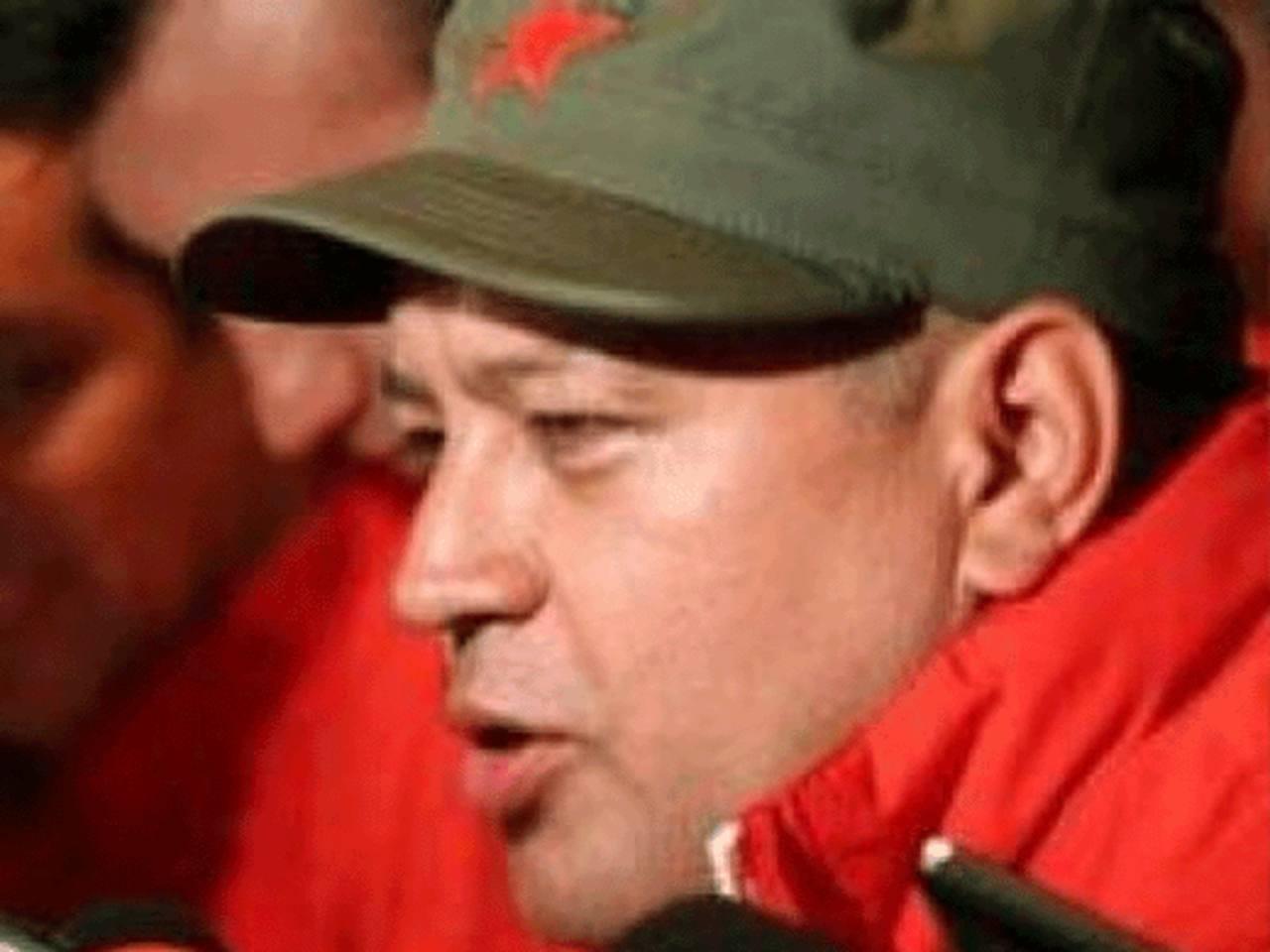 El presidente de la Asamblea Nacional, Diosdado Cabello, quien encabeza las posiciones de un grupo de militares nacionalistas. foto edh / archivo