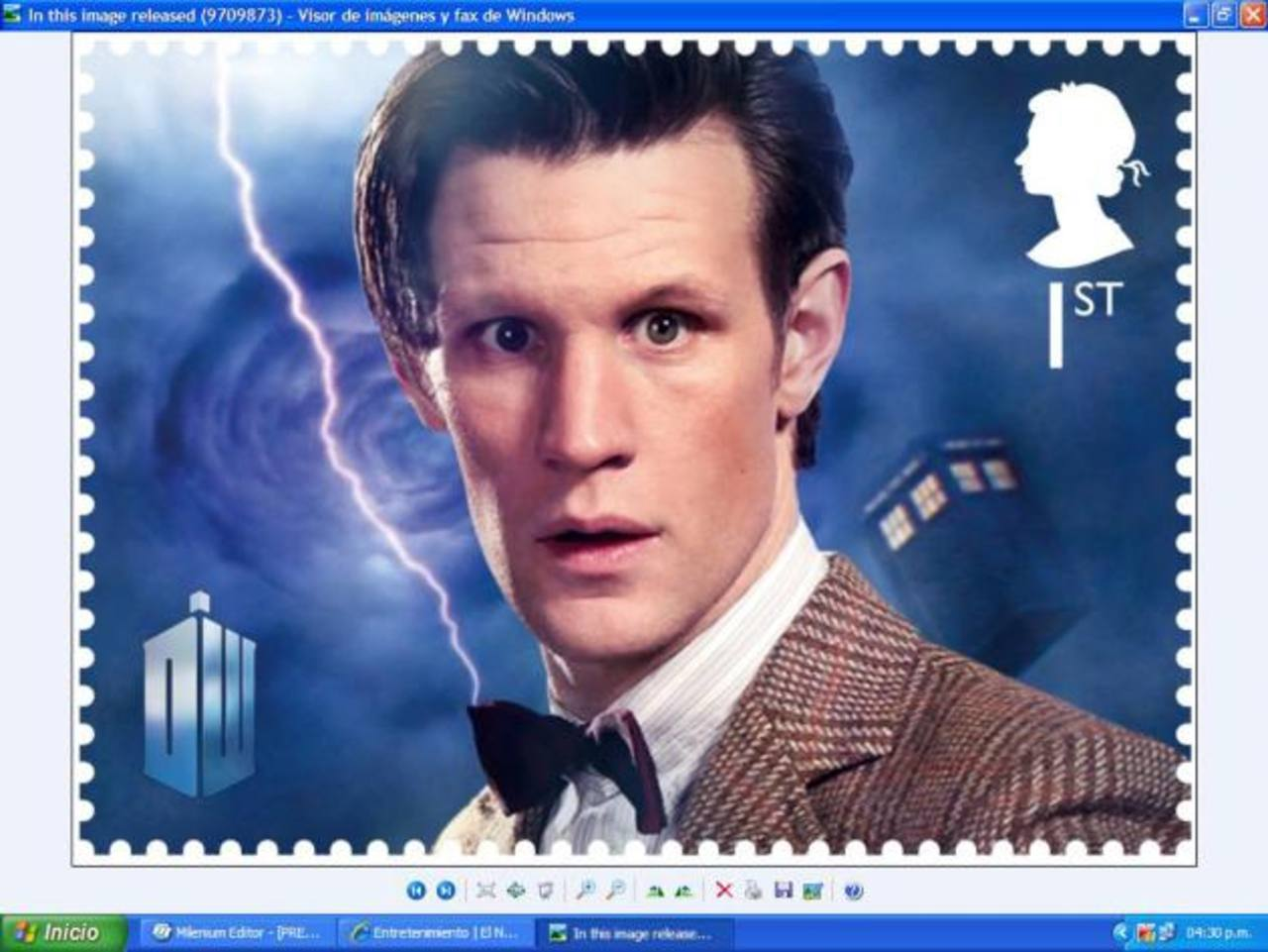 Doctor Who tendrá timbres postales