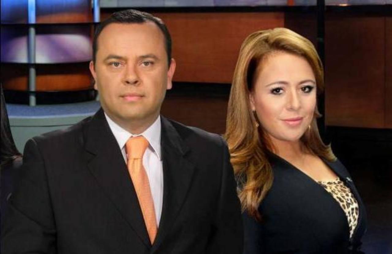 Marisol Doratt y Eduardo Arévalo presentan la edición estelar de Teledos. FOTO EDH