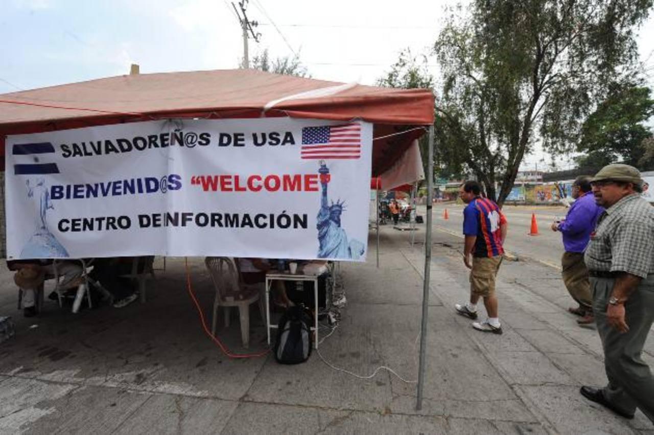 La emisión del DUI en el exterior es necesaria para que los salvadoreños puedan emitir el sufragio. foto edh / ARCHIVO