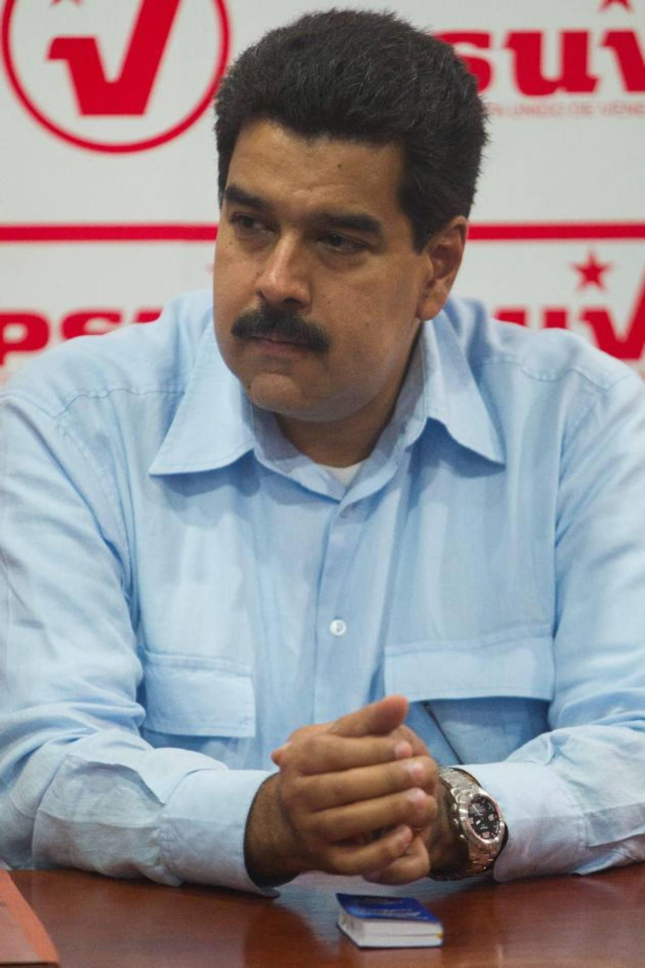 Nicolás Maduro, vicepresidente. Foto EDH / archivo