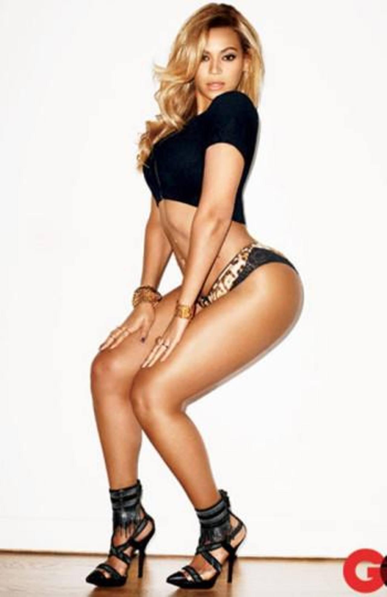 Beyoncé muestra sus curvas en revista GQ