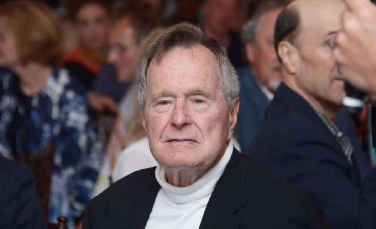 El exgobernante George H. W. Bush. Foto EDH / ap
