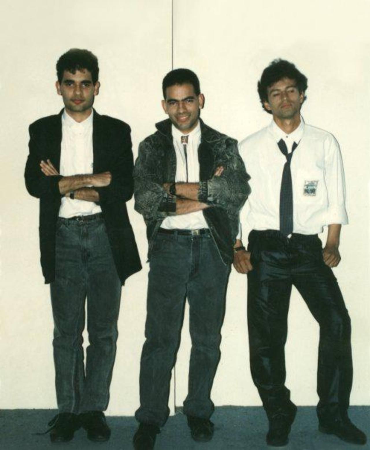 Rafael (al centro) cuenta que la principal inspiración de la banda eran los Beatles. El rock progresivo fue su pasión siempre.
