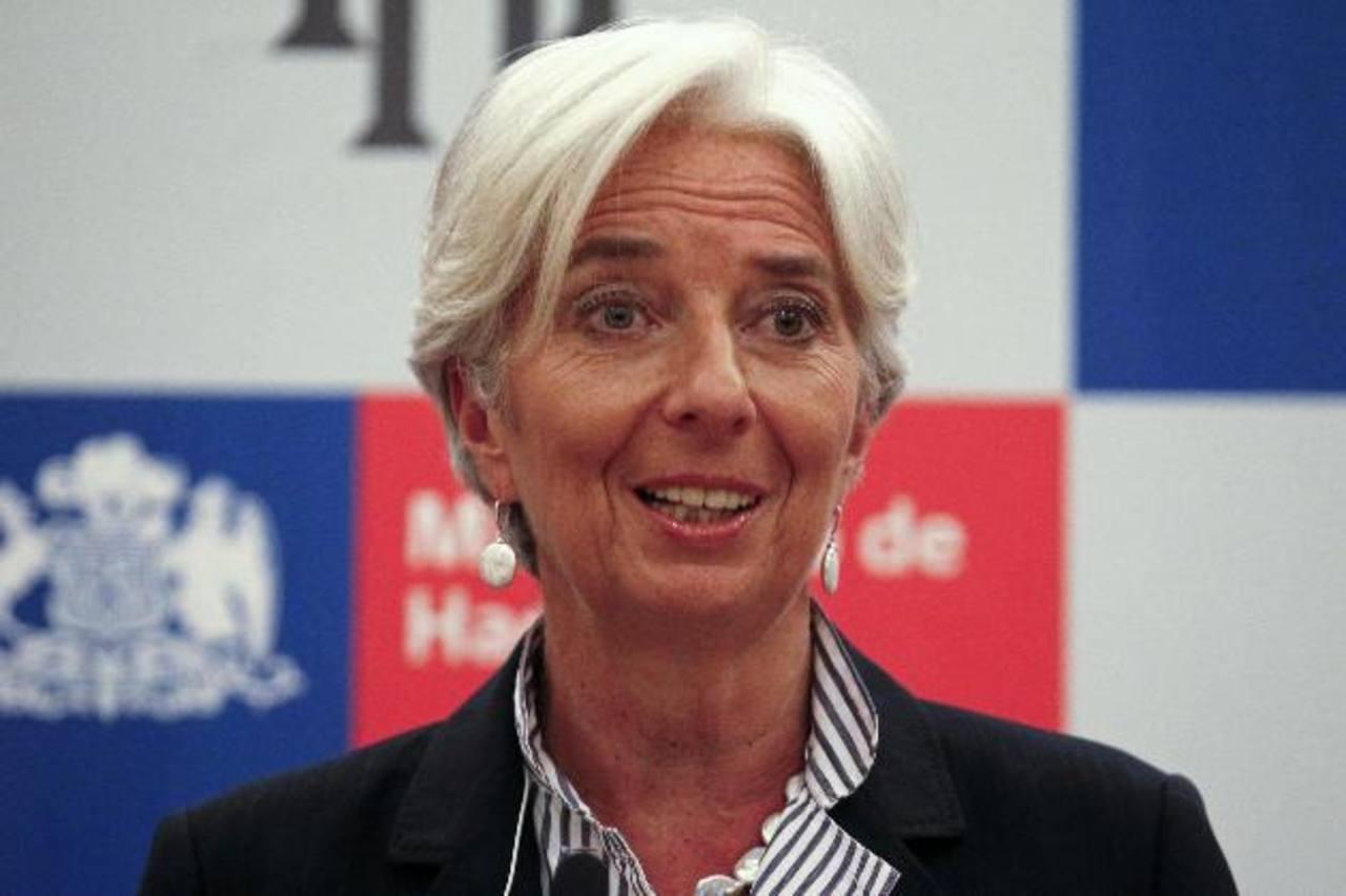 Christine Lagarde dijo que Portugal no seguirá a Grecia.