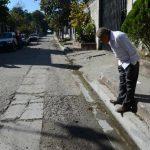 El asesinato fue perpetrado en calle El Mirador de San Martín. Foto EDH / Jaime Anaya