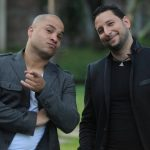 El productor Alejandro Lagrotta y el cantante Manuel Corredera ofrecieron una entrevista para hablar de la participación en el show de Reik. foto EDH / lissette monterrosa