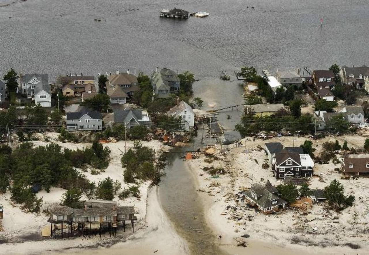 """El huracán """"Sandy"""" causó daños por un importe de unos $50,000 millones. FOTO EDH / archivo"""