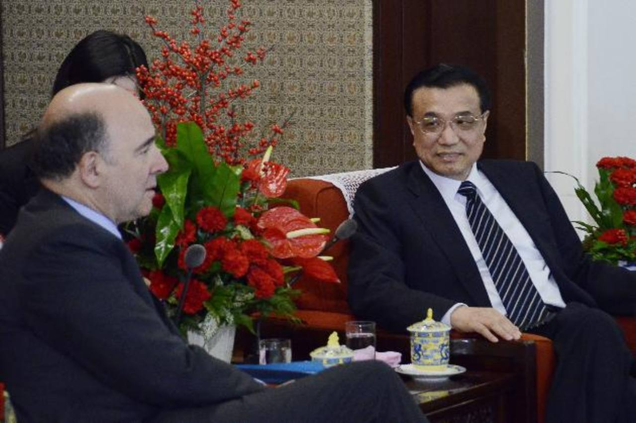 China está cauta ante los bonos de la UE. foto edh / efe