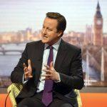 El primer ministro de Gran Bretaña David Cameron. Foto Reuters