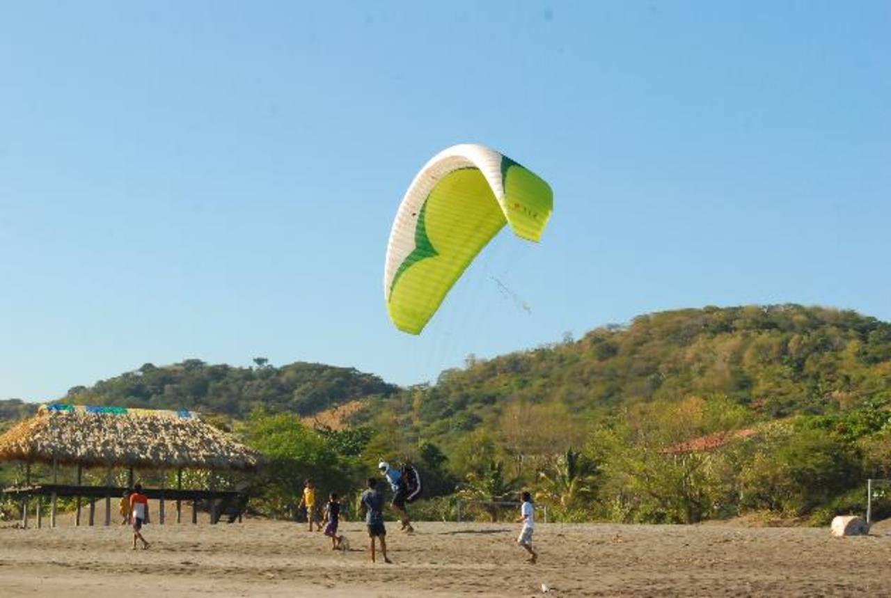 También se practican deportes. Fotos edh / insy MendozaEl número de visitantes en ese sector está en crecimiento.