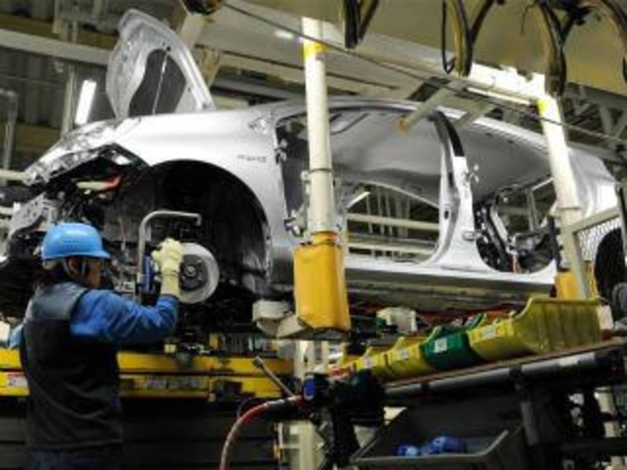 El 2012 fue un buen año para la producción de vehículos.