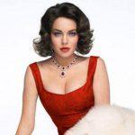 Lindsay Lohan en su rol como Liz Taylor. Foto tomada de internet
