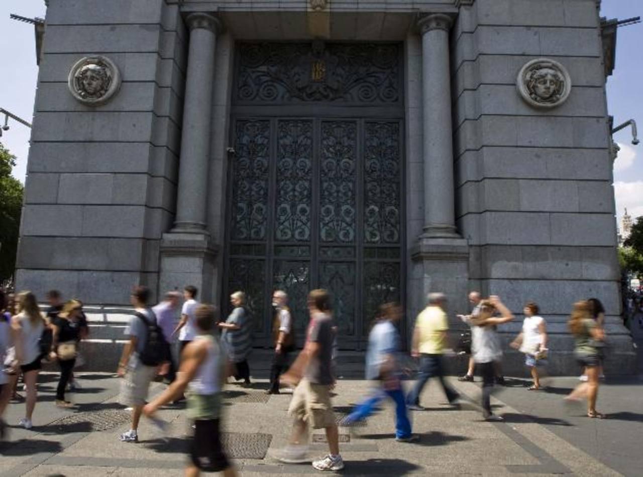 El Banco de España será más rígido con la supervisión a los bancos, este año. Foto edh /archivo