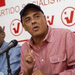 El alcalde de Caracas y miembro de la dirección nacional del Partido Socialista Unido de Venezuela (PSUV), Jorge Rodríguez (derecha). foto edh / archivo