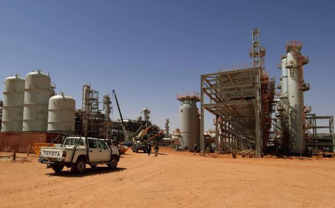 Foto de la planta de gas en In Amenas, Argelia. FOTO AFP