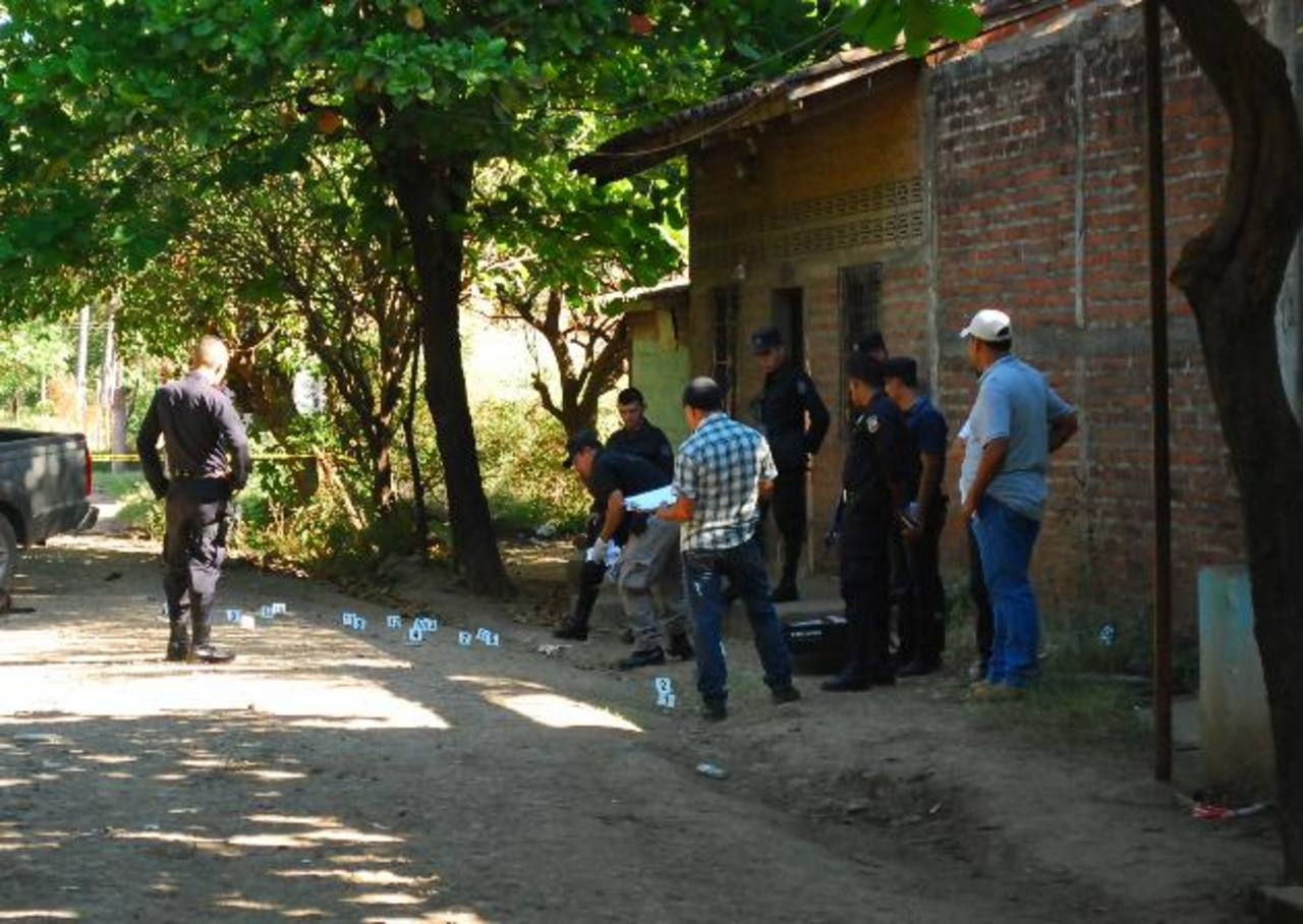 Los lesionados de bala y los asesinatos se han vuelto comunes en los primeros días de 2013 en La Unión. foto edh / archivo