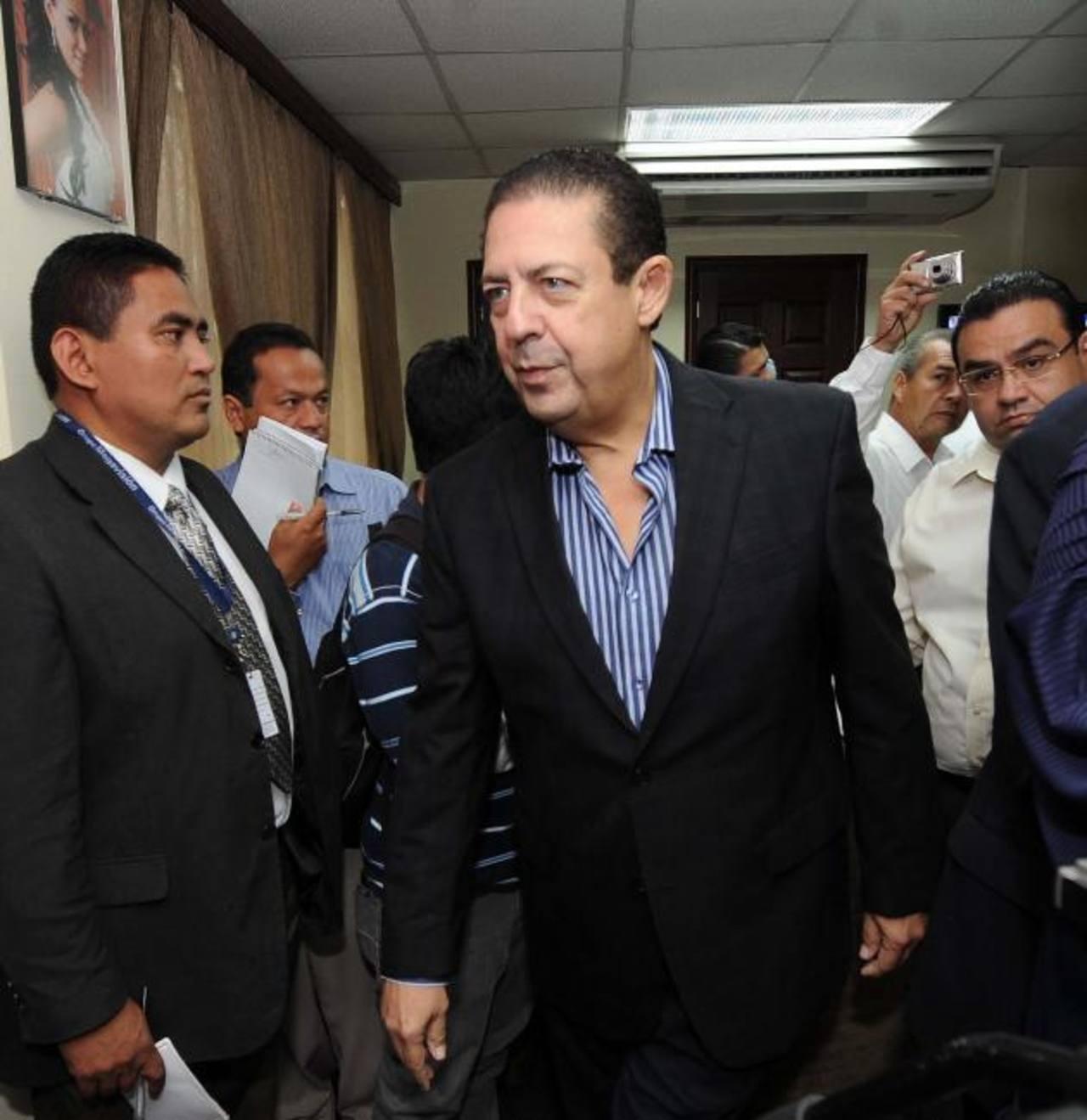 Rodrigo Samayoa será procesado por tres delitos en la Cámara Primera de lo Penal de San Salvador. Foto EDH / Archivo.