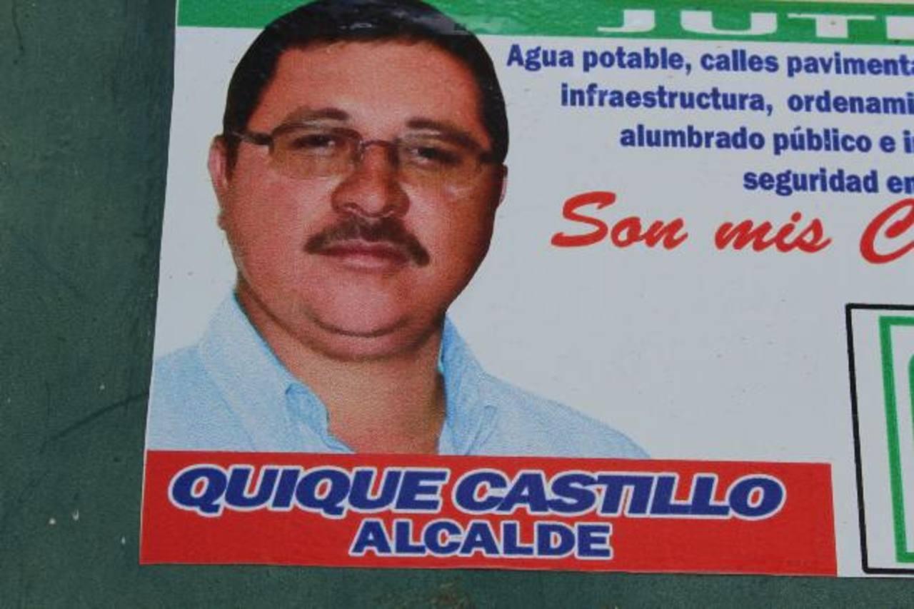 Carlos Castillo fue alcalde durante tres periodos consecutivos en San José Acatempa, su municipio de origen. foto edh