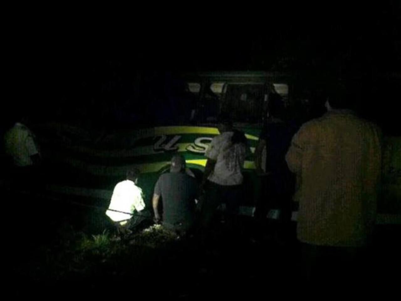 Accidente de autobús en Santa Ana deja 9 lesionados