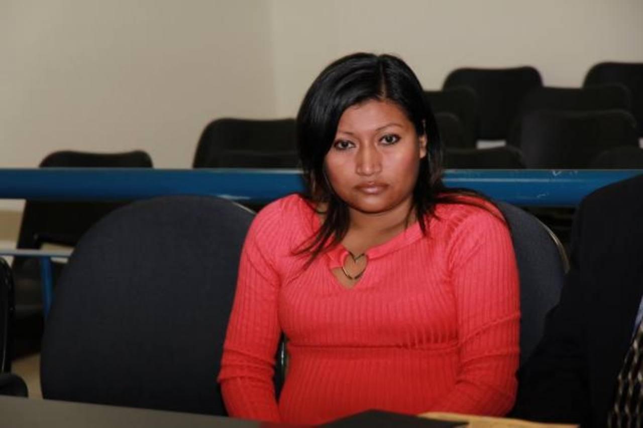 Zuleyma Nohemy Guillén, de 24 años, fue condenada ayer por el Tribunal Sexto de Sentencia de San Salvador. Foto EDH / Cortesía