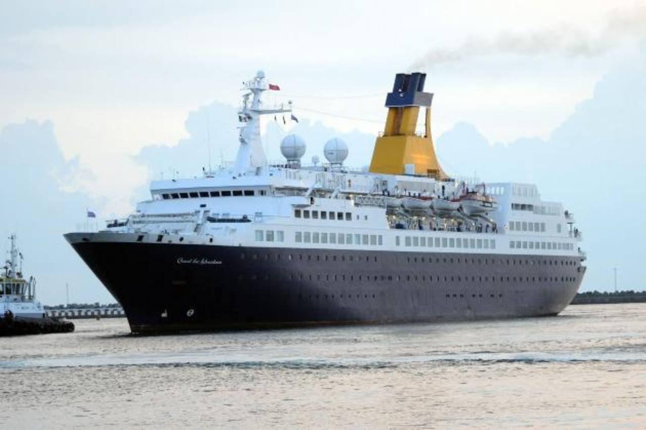 Puerto Cortés recibió su primer crucero con turistas. foto edh