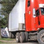 El camión fue interceptado por la Policía cuando intentaba ingresar a Costa Rica. FOTO EDH