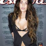 Megan Fox es la portada para febrero de Esquire