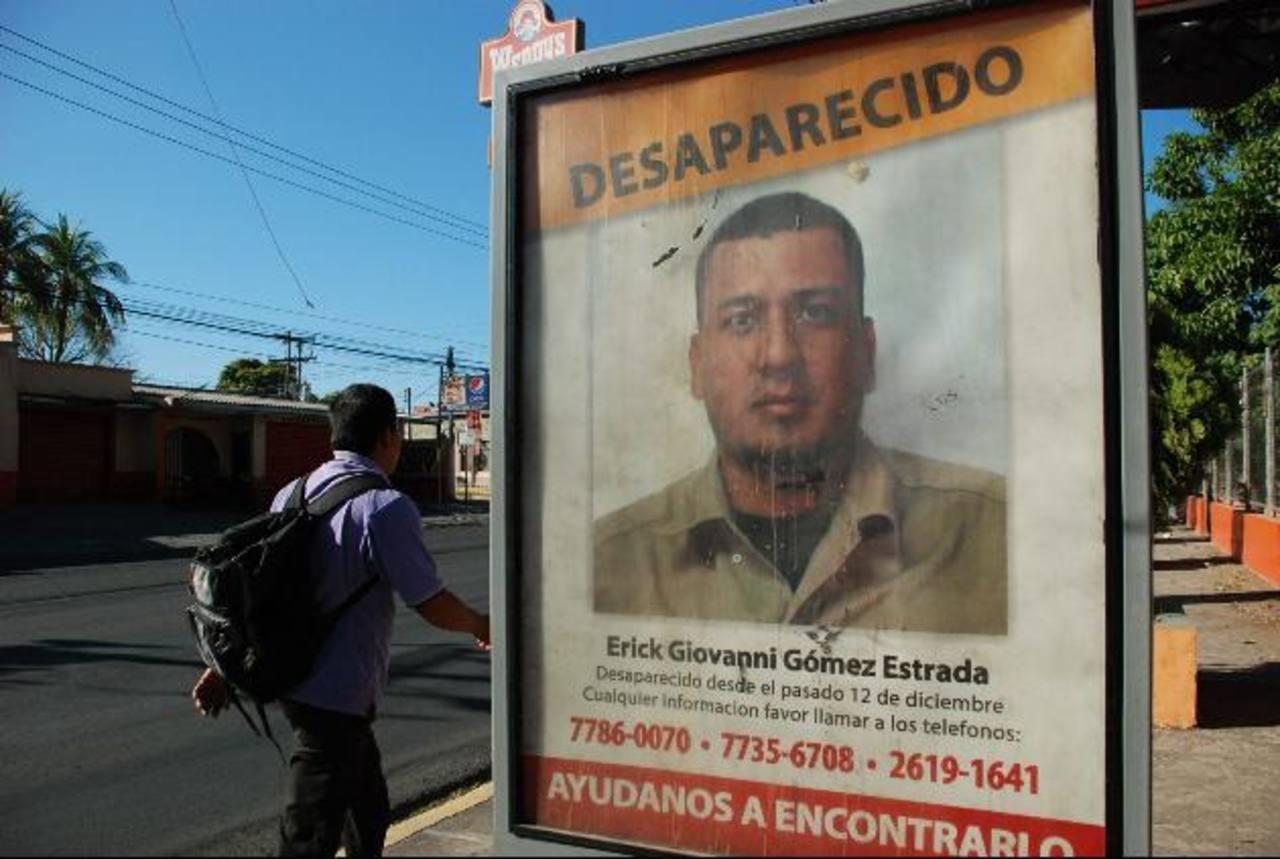 Erick Gómez salió del trabajo rumbo a su casa pero nunca llegó. Foto EDH / Lucinda Quintanilla