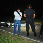 Escena del accidente. Foto tomada de Prensa Libre