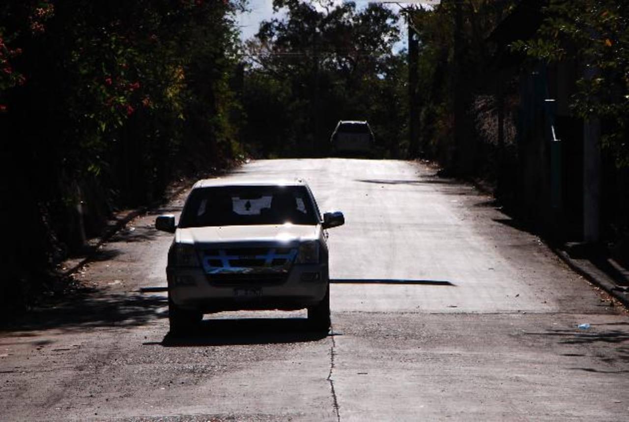 El acceso al municipio será inaugurado en el presente mes. Foto EDH /Francisco Torres