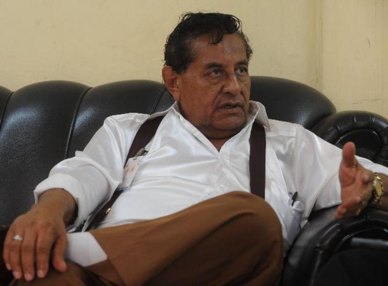 Nicolás Mendoza Correa organizó paros al transporte durante gobiernos de derecha. Hoy su problema es con uno de izquierda Foto EDH / Claudia Castillo