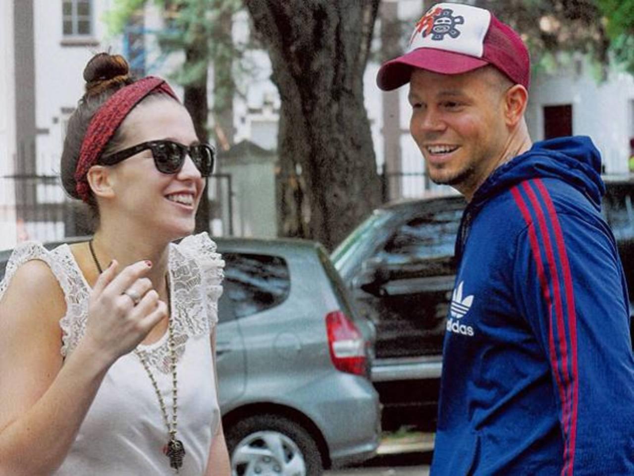 René Pérez, de Calle 13, se casó con modelo argentina