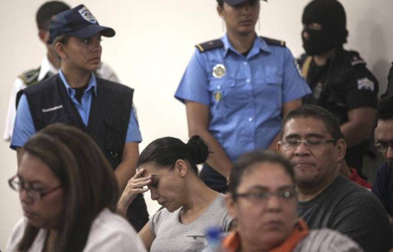 Raquel Alatorre Correa, considerada la cabecilla del grupo, condenada a 35 años. foto edh /Ap