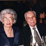 El doctor Francisco Armando Arias, junto a su esposa doña Martha de Arias, con quien compartió 65 años de feliz matrimonio.