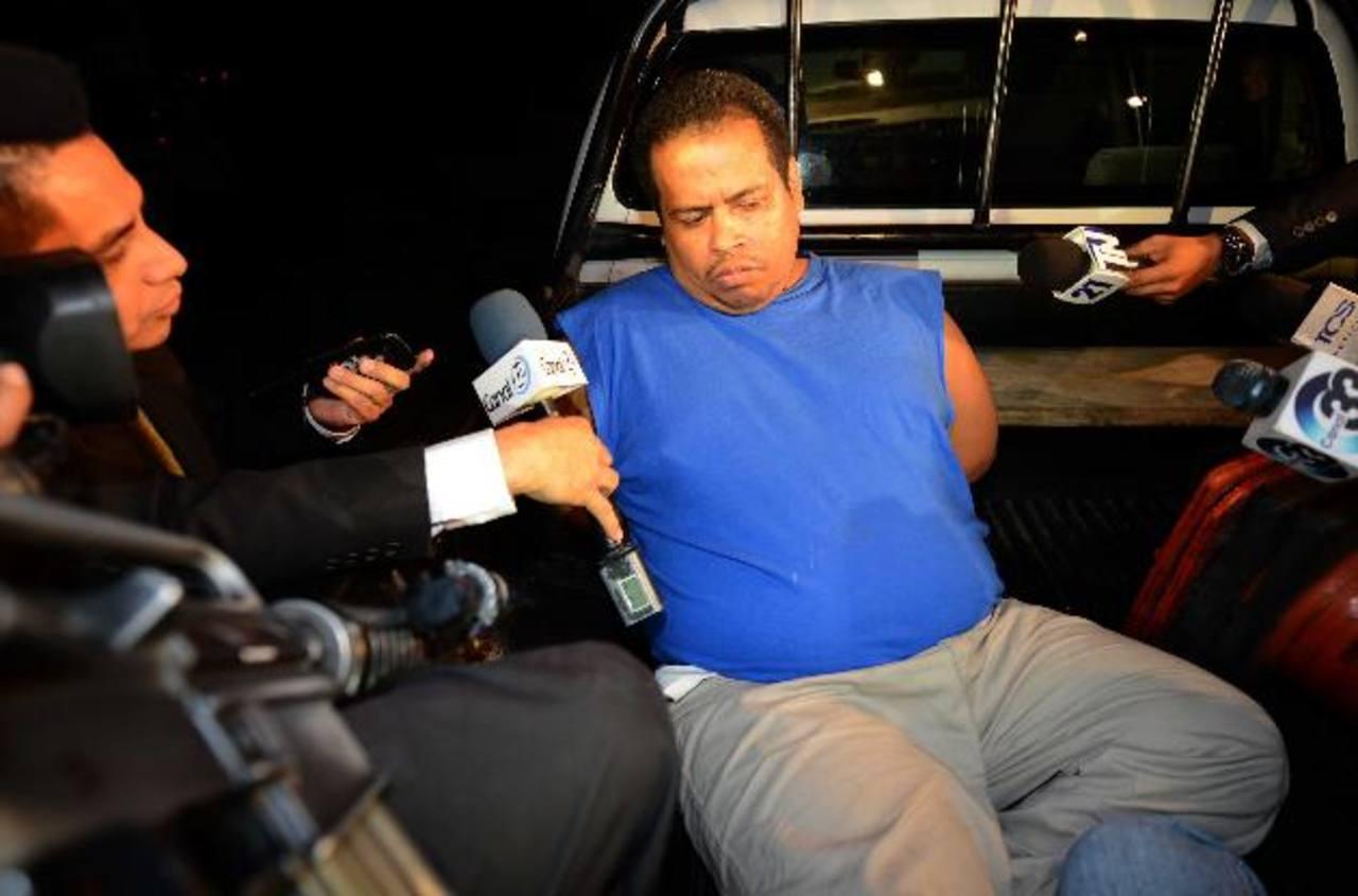 Las autoridades informaron que Marco Landaverde Sánchez, junto a su esposa y tres hijos menores de edad, se ocultaba en el motel desde la noche del martes. Foto EDH / Mario Amaya